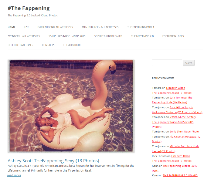 The Best Of The Fappening
