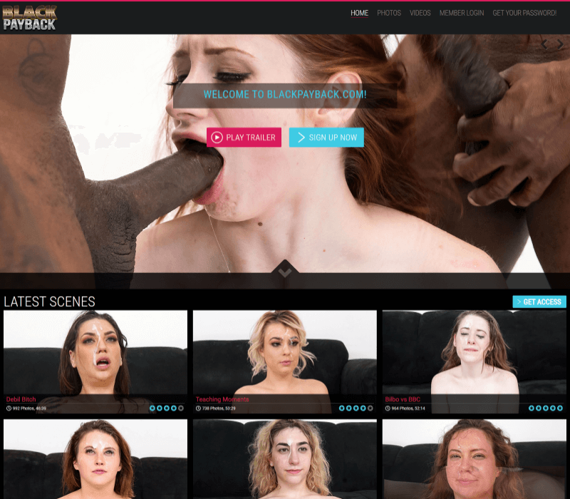 Blackpayback review - BEST INTERRACIAL PORN SITES