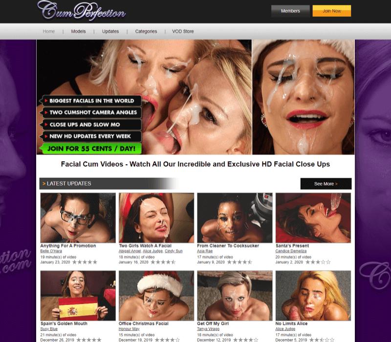 Cumperfection review - BEST BUKKAKE PORN TUBES