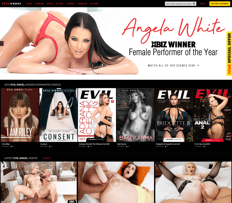 Evilangel review - BEST BDSM PORN TUBES