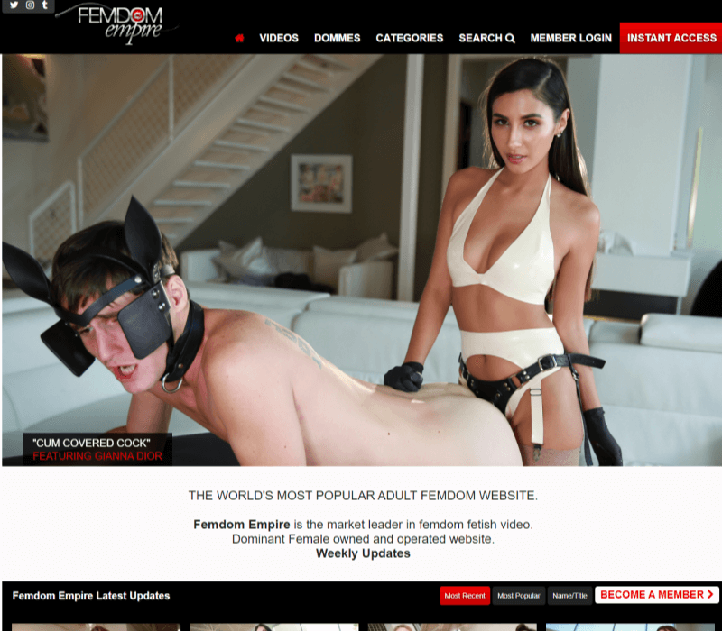 Femdomempire BDSM review - BEST BDSM PORN TUBES