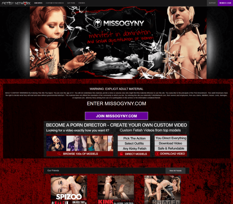 Missogyny review - BEST BDSM PORN TUBES