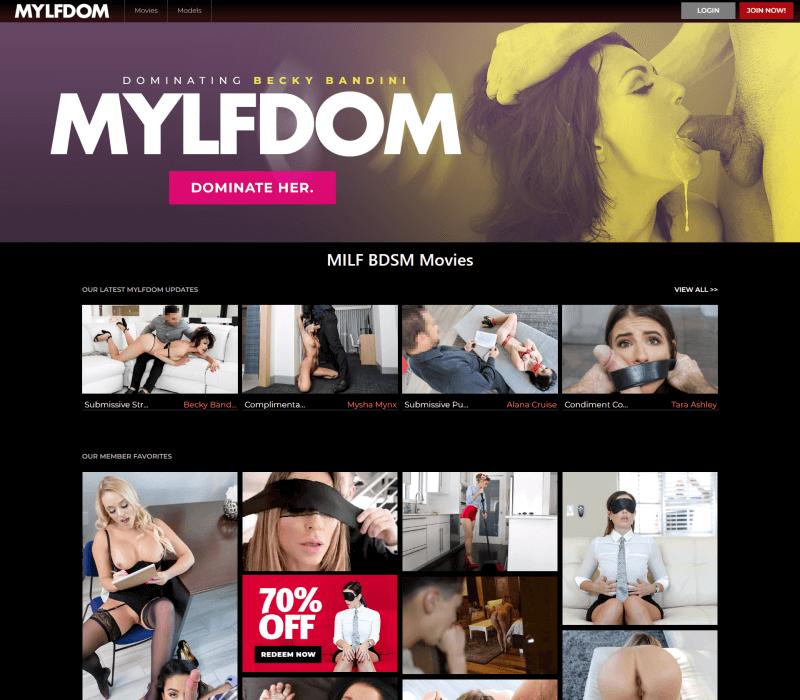 Mylfdom review - BEST BDSM PORN TUBES