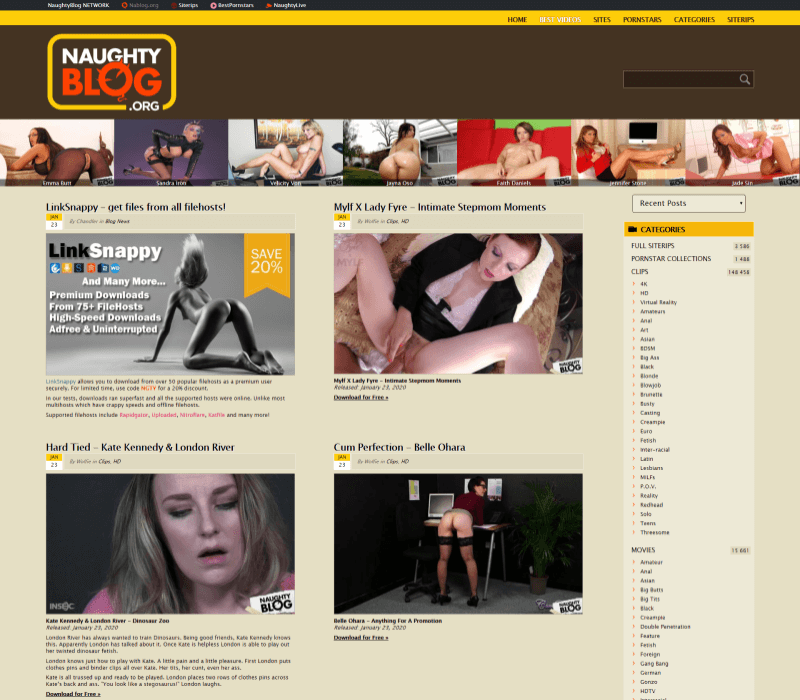 Naughtyblog review - BEST TEEN PORN TUBES