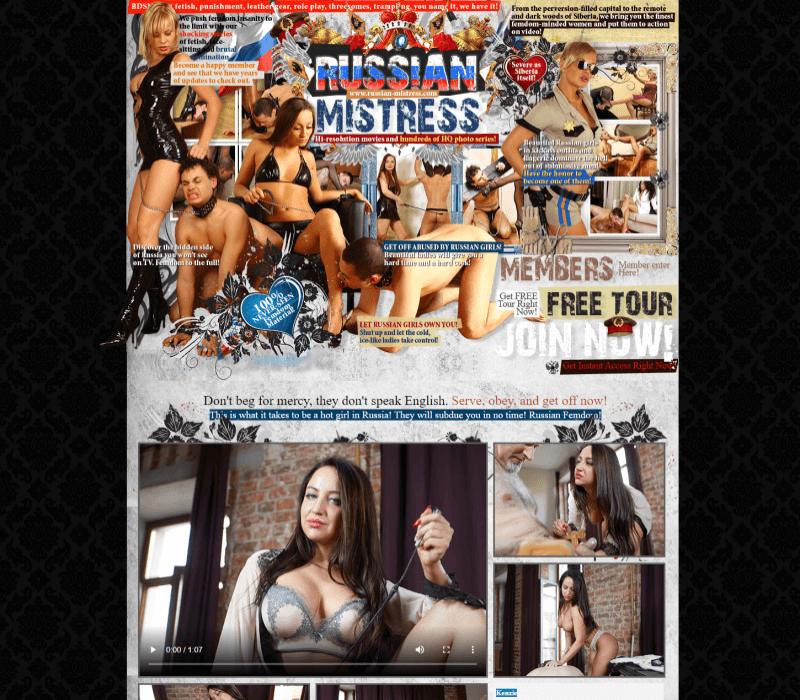 Russian-Mistress review - BEST FEMDOM PORN SITES
