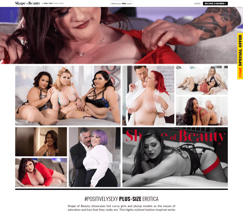 Shapeofbeauty review - BEST BBW PORN SITES