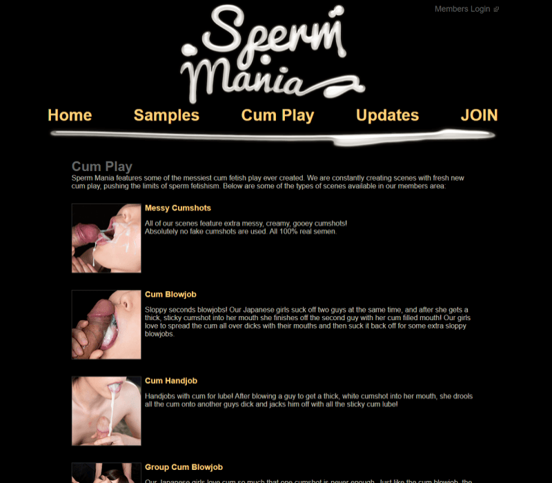 Spermmania review - BEST BUKKAKE PORN TUBES