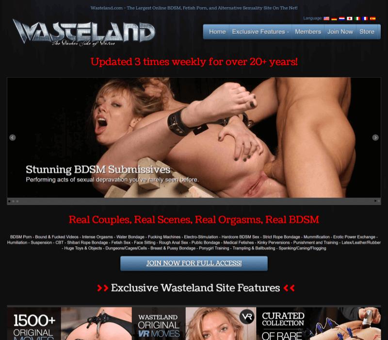 Wasteland review - BEST BDSM PORN TUBES