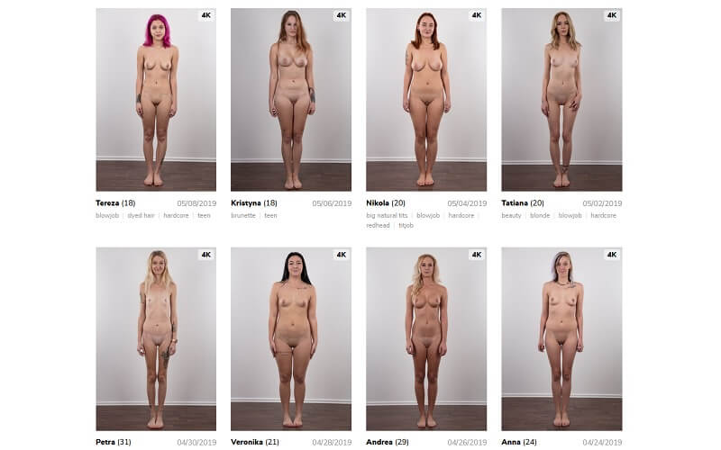 Fotos czech casting Pornstars who
