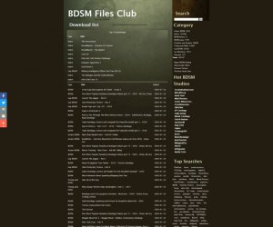 Bdsm-Files review - BEST BDSM PORN TUBES