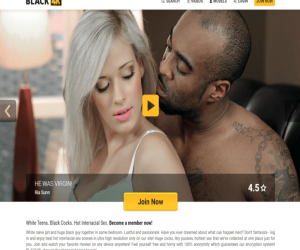 Black4K review - BEST INTERRACIAL PORN SITES