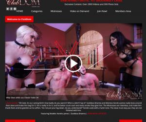 Clubdom review - BEST FEMDOM PORN SITES