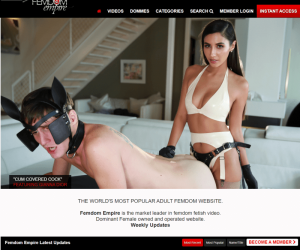 Femdomempire review - BEST FEMDOM PORN SITES