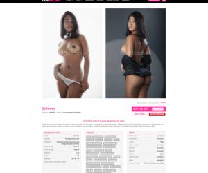 Revisión de Hottescorts - sitios porno españoles