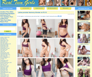 Realteengirls review - BEST TEEN PORN TUBES