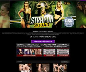Straponsquad review - BEST LESBIAN PORN SITES