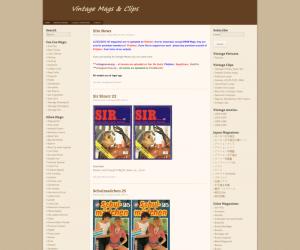 Revisión de Vintagemags - GRANDES TUBOS PORNO VINTAGE